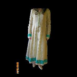 Womens Long Indian Frock Style Dress